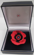 Large Poppy Brooch